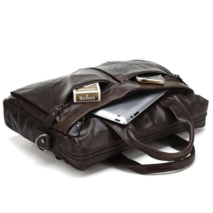 Túi xách da nam RB306BR 5