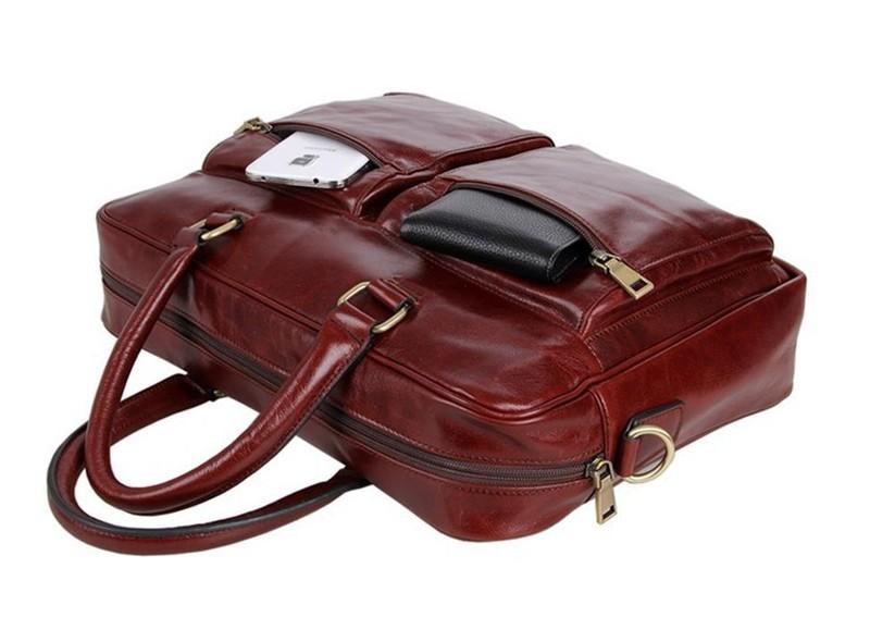 Túi xách da nam RB320BR 5