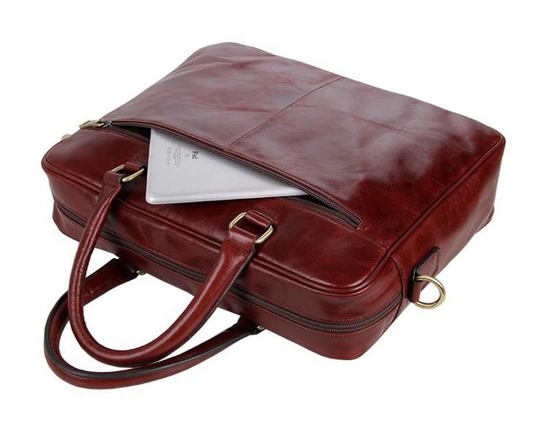 Túi xách da nam RB320BR 6