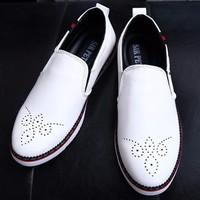Giày Lười Da Bóng TINTO 0202TR