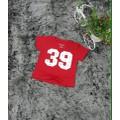 Áo thun số 39 màu đỏ