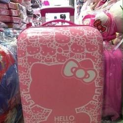 Valy kéo kitty hồng dễ thương hàng thái nhựa cao cấp VL163