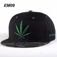 Mũ nón snapback lá cần xanh