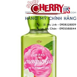 SỮA TẮM BATH AND BODY WORKS SWEET MAGNOLIA CLEMENTINE 295ML