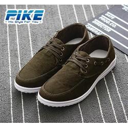 Giày Nhập Khẩu Vải Nâu - GV09.3