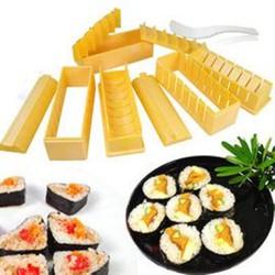 Bộ khuôn làm sushi - tặng dao cắt sushi