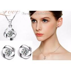 XT238 - Bộ trang sức mạ bạc 925