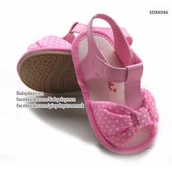 Sandal tập đi cho bé 6 tháng đến 3 tuổi