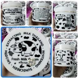 Kem dưỡng trắng da toàn thân cốt sữa bò trắng 250g - hàng Thái Lan