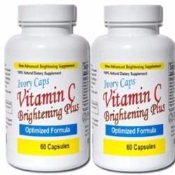 Viên Uống Trắng Da Bổ Sung Vitamin C Ivory Caps Brightening Plus