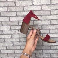 Giày sandal gót vuông 0603