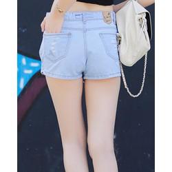 Quần Short Nữ Jeans Giả Váy
