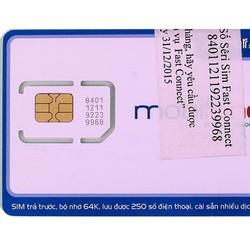 Sim 3g mobifone tặng 4Gb mỗi tháng trong 12T