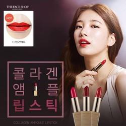 Son môi The Face Shop - Collagen ampoule lipstick