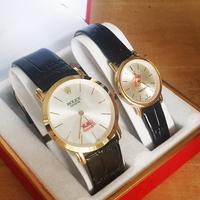 Đồng hồ đôi thời trang mặt shapries cực đẹp