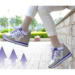 Giày Sneaker độn đế kiểu dáng thể thao