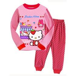 838 - Bộ Gap dài Kitty shop - shop Tinker Bell Kids