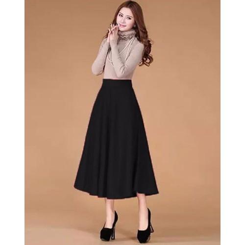 Chân váy dài xoè - 3897817 , 2805603 , 15_2805603 , 265000 , Chan-vay-dai-xoe-15_2805603 , sendo.vn , Chân váy dài xoè