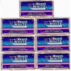 Combo 7 miếng dán trắng răng Crest 3D Whitestrip USA