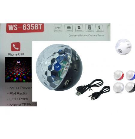 Loa Bluetooth WS-635BT Có Đèn Led Nhiều Màu Giá Siêu Rẻ 15