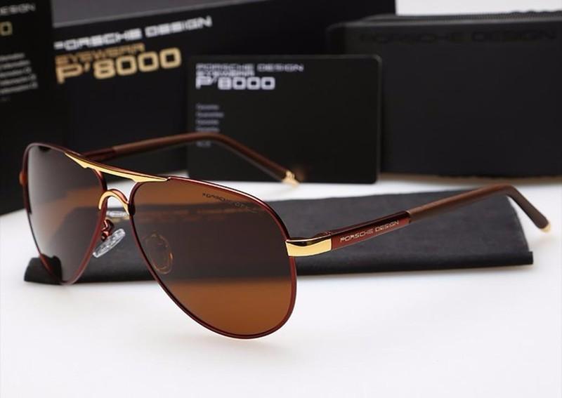Mắt kính cao cấp Porsche P8000 - MKDL001 9