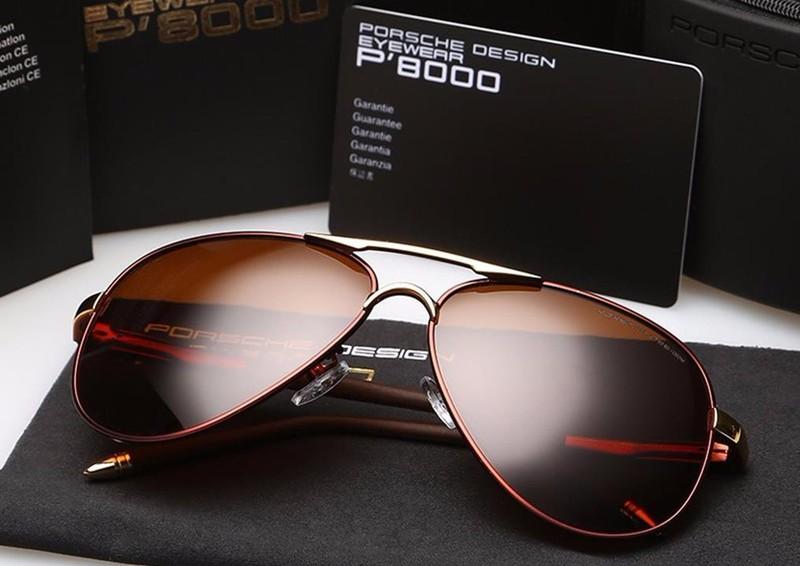 Mắt kính cao cấp Porsche P8000 - MKDL001 7