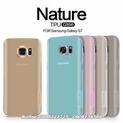Ốp lưng Samsung Galaxy S7 Silicon Nillkin chính hãng