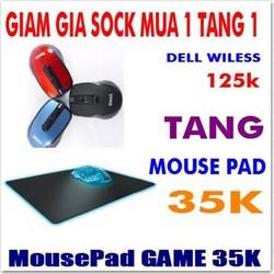 Chuột Quang Không Dây Dell Siêu nhạy Siêu Rẻ MUA 1 TẶNG 1