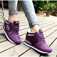 Giày thể thao nữ độn đế Hàn Quốc TT219V - Doni86.com
