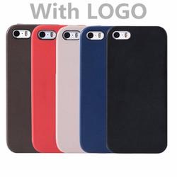 iPhone 5, iPhone 5s - Ốp da PU trơn sang trọng cho điện thoại Apple