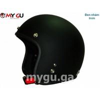 Mũ bảo hiểm cao cấp NANA N11 - Đen nhám trơn