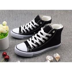 giày sneaker cổ cao ngôi sao Mã: GT0056 - ĐEN