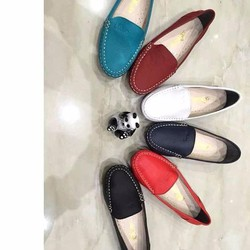 Giày mọi da nữ đơn giản phong cách sang trọng GM110