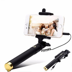 Gậy Chụp Hình Selfie Stick Có Nút Bấm Trên Thân Lịch Lãm