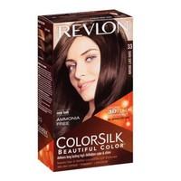 Thuốc nhuộm tóc Revlon Colorsilk 33 Dark Soft Brown Mỹ