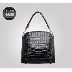 Túi xách,đeo chéo nữ thiết kế vân da cá sấu, sang trọng-T308