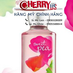 SỮA TẮM  SWEET PEA 295ML BATH AND BODY WORKS