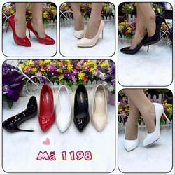 giày nữ, thiết kế cao gót sang trọng, chất liệu da PU êm chân vg222