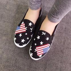 Giày vans slip on sao cờ Anh