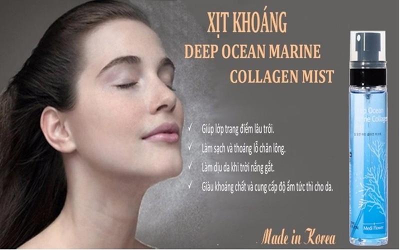 XỊT KHOÁNG DEEP OCEAN MARINE COLLAGEN MIST 6