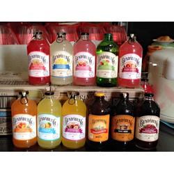 Nước ép trái cây nguyên chất có Gaz Bundaberg Úc - 375ml