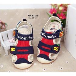Sandal cho bé trai 1 - 4 tuổi kiểu dáng Hàn Quốc SD23