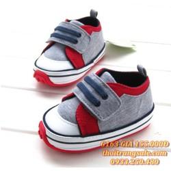 Giày đế cao su bé trai G163