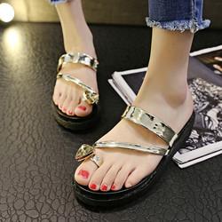 Hàng Nhập - XS0257 - Giày Sandal nữ mùa hè phong cách Hàn Quốc mẫu mới