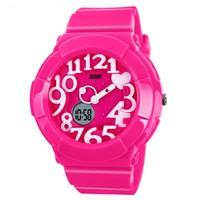 Đồng hồ trẻ em skmei 1020 Hồng