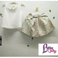 Set áo váy HOA NẮNG cho bé gái