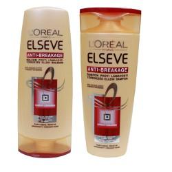 Bộ dầu gội xả Loreal elseve giúp phục hồi tóc hư tổn 250ml Pháp