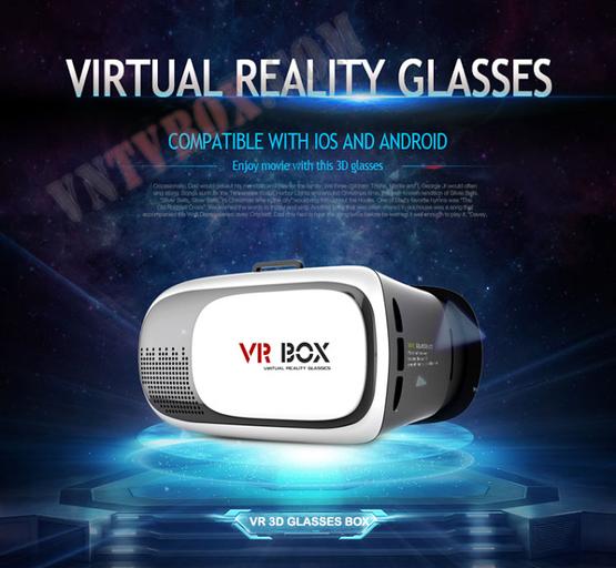 Kinh 3D VR BOX thế hệ 2 xem phim 3d cực đã 2