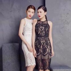 Đầm Ren Yếm size M, L: Mẫu Mới 2016 - TP815265