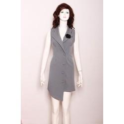Đầm Giả Vest Cực Độc